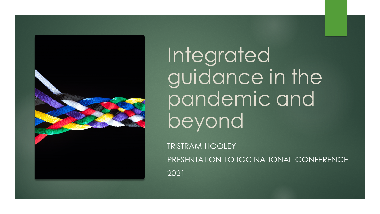 Integrated guidance in the pandemic and beyond